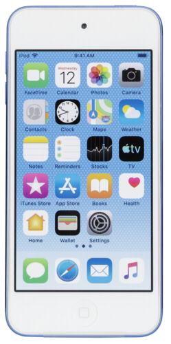 Apple iPod Touch 7th Generation 128GB blue