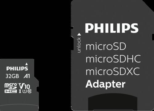 Philips MicroSDHC Card 32GB Class 10 UHS-I U1 incl. Adapter