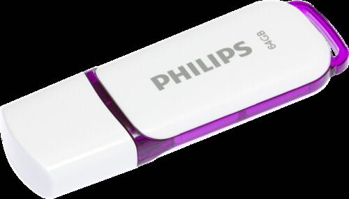 Philips Snow Edition 64GB USB 2.0 Purple