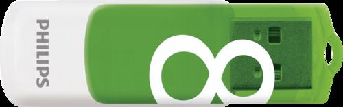 Philips Vivid Edition 8GB USB 2.0 Green