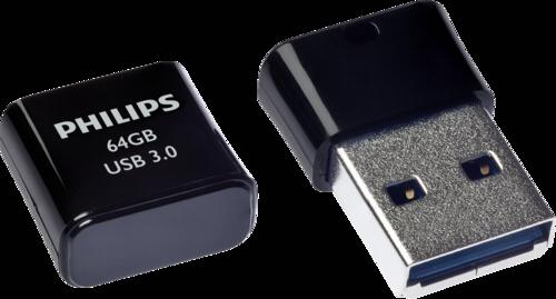 Philips Pico Edition 64GB USB 3.0 Black