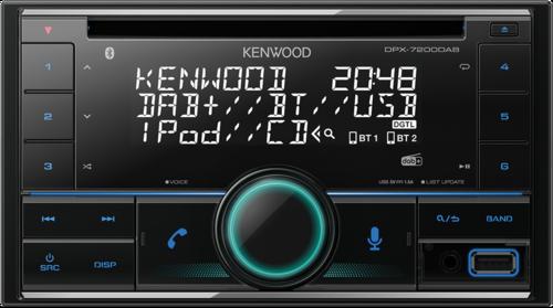 Kenwood DPX7200DAB incl. DAB antenna