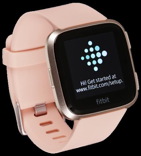 Fitbit Versa peach/rose gold