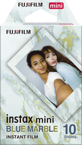 Fujifilm instax mini Film blue marble