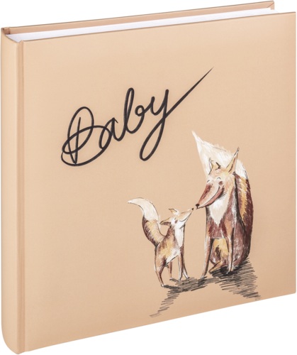 Walther Filou Fuchs Baby 26x25 - 50 white pages