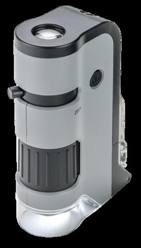 Carson MicroFlip 100x-250x LED Pocket Microscope