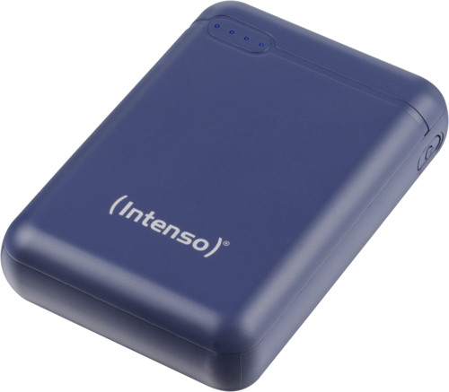 Intenso Powerbank XS10000 incl. USB-A to Type-C blue
