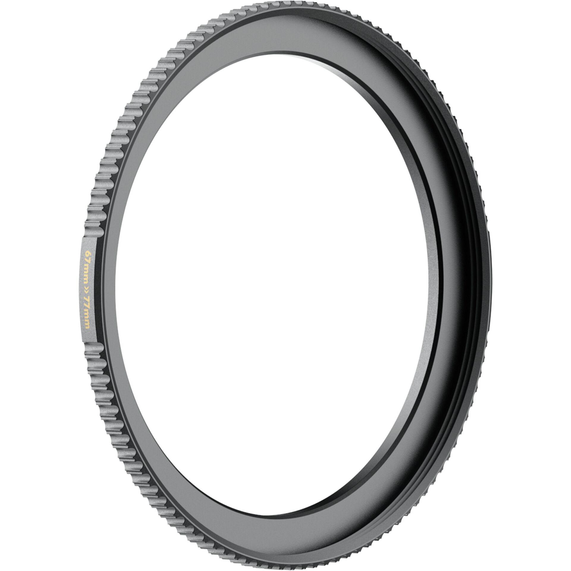 PolarPro QuartzLine Step Up Ring Lens 67mm to Filter 77mm