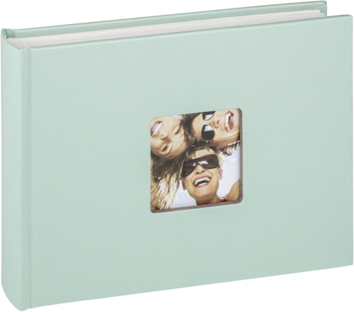 Walther Fun mint green 22x16 - 40 white pages