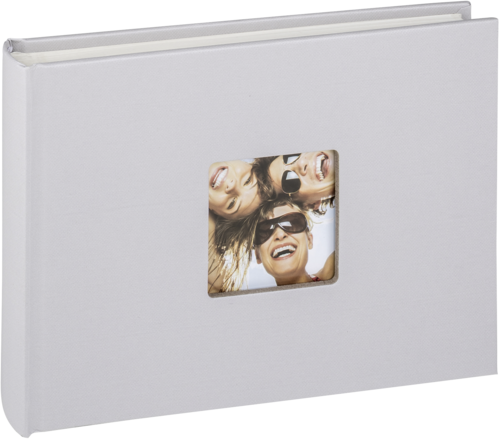 Walther Fun light grey 22x16 - 40 white pages