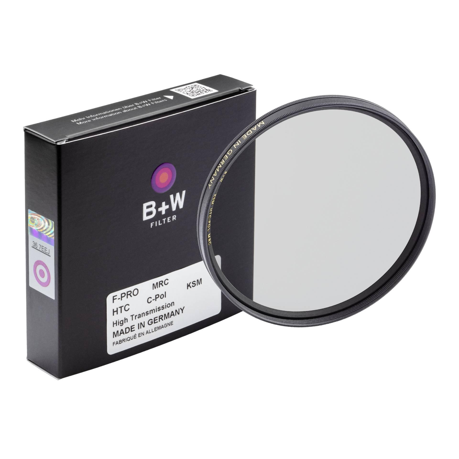 B+W F-Pro HTC Circular Polarizer Kasemann MRC 43mm