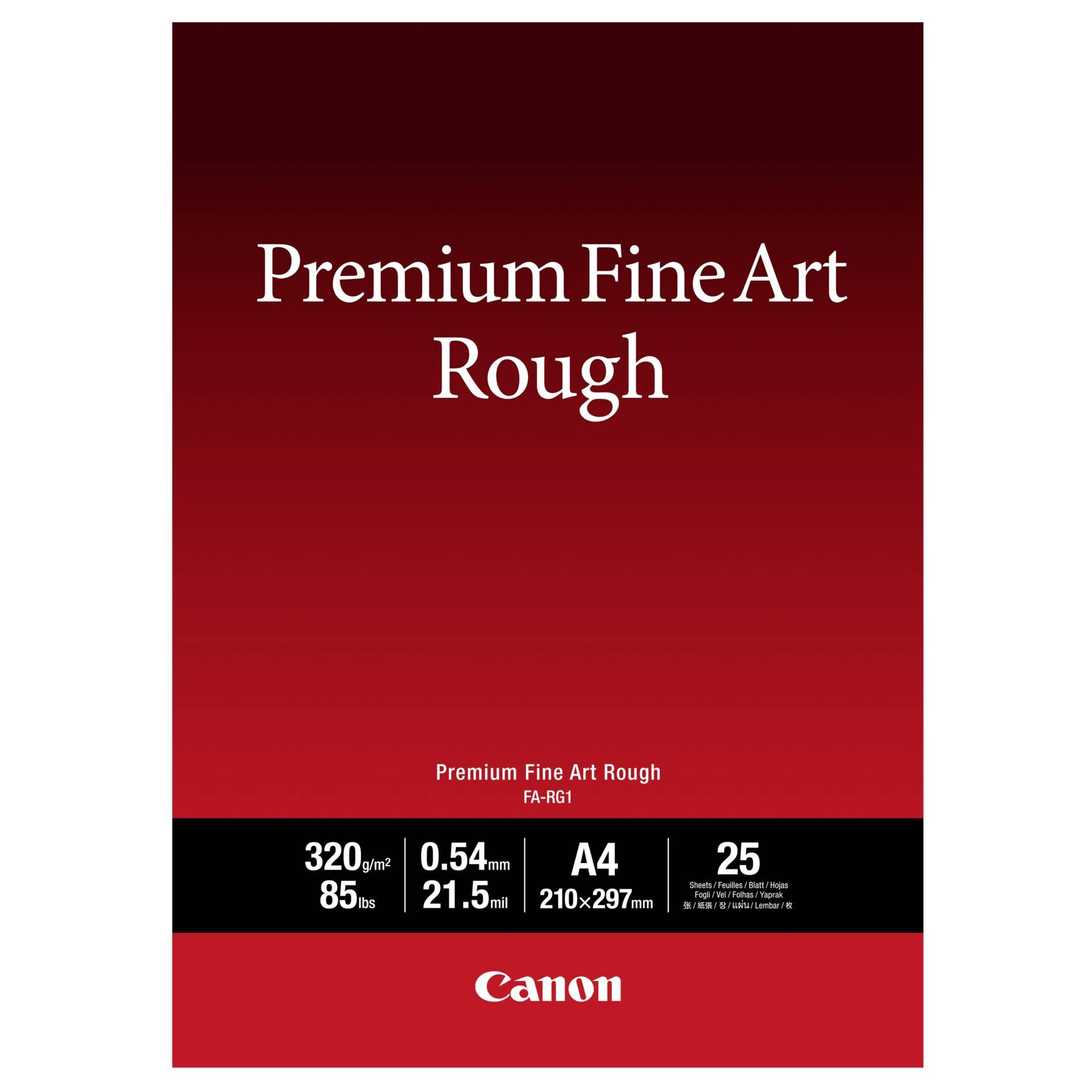 Canon FA-RG1 Premium Fine Art Rough A4 320g (25 sheets)