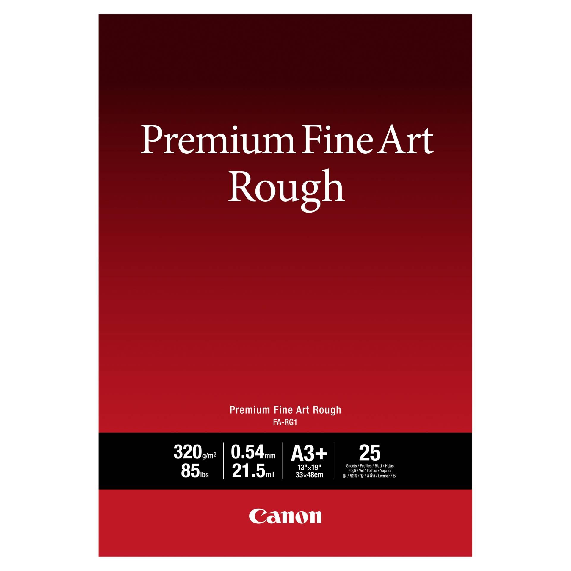 Canon FA-RG1 Premium Fine Art Rough A3+ 320g (25 sheets)