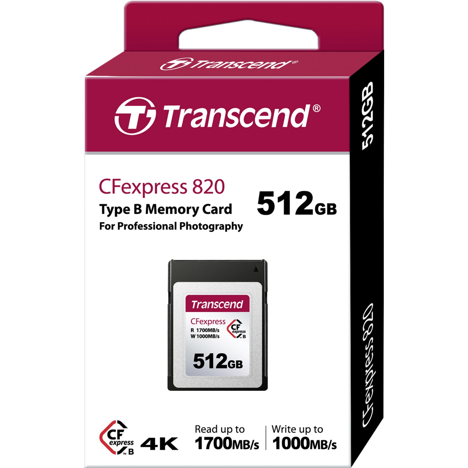 Transcend CFexpress 512GB TLC