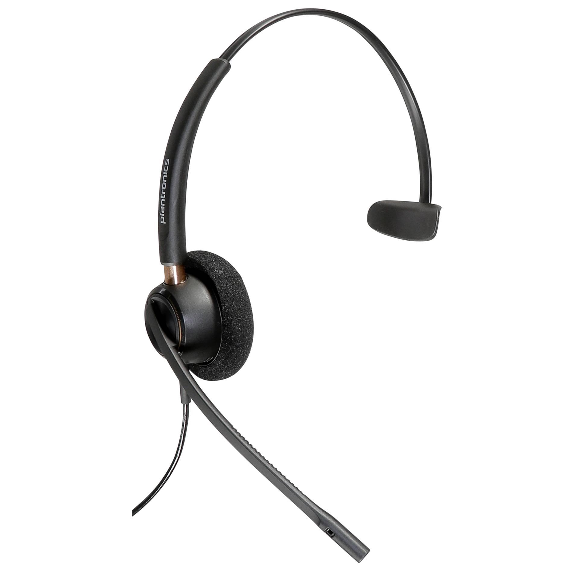 Plantronics EncorePro HW510 On-Ear Headset wired