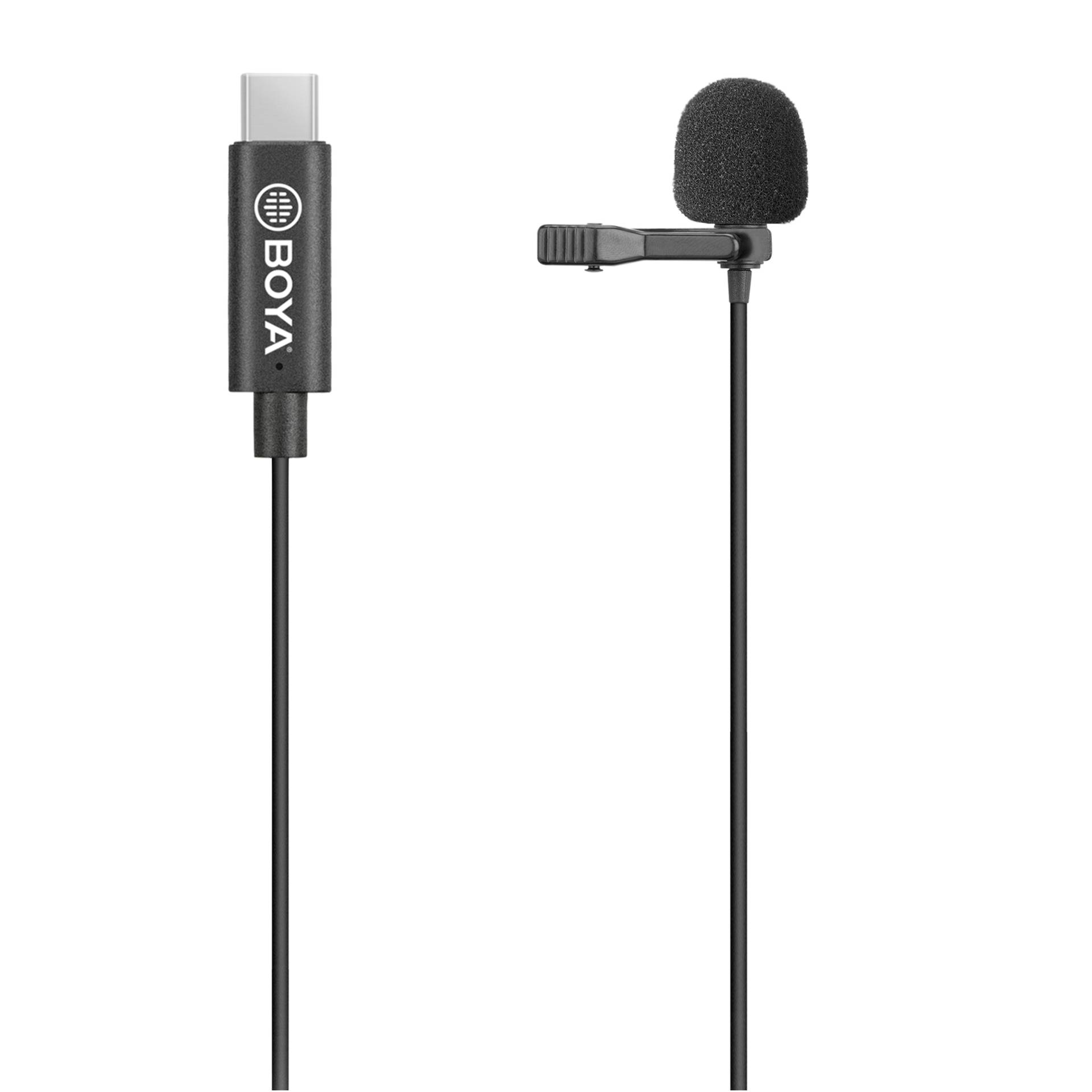 Walimex Pro Boya M3 clip on microphone for type USB-C