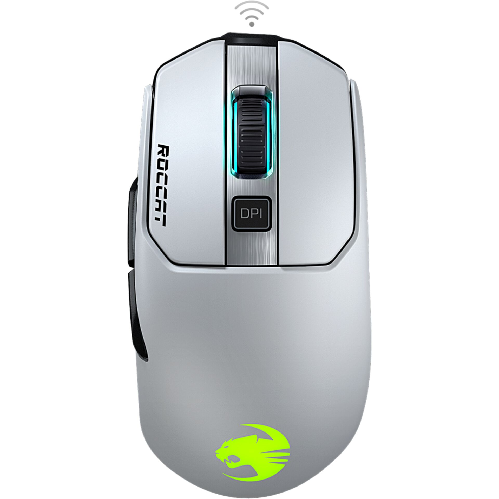 Roccat Kain 202 AIMO RGB kabellos Gaming mouse white