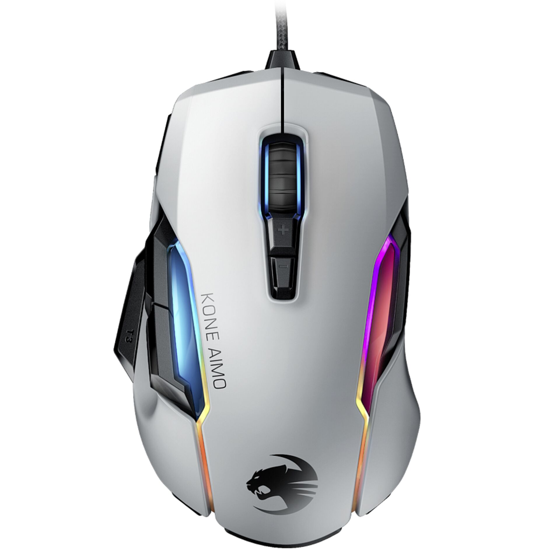 Roccat Kone AIMO Remastered RGBA Gaming mouse white