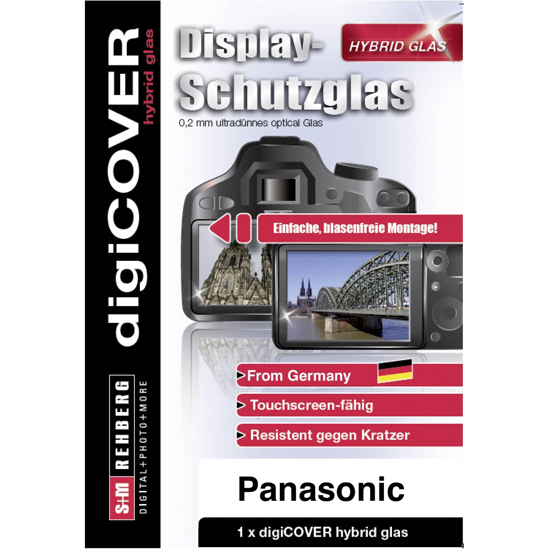DigiCOVER Hybrid Glass Display Cover Panasonic G110