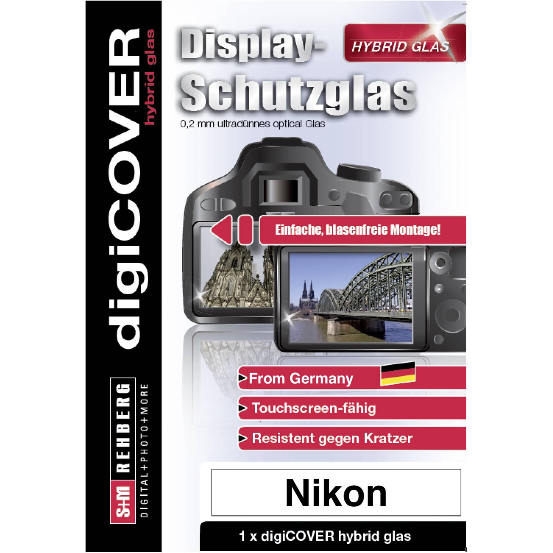 DigiCOVER Hybrid Glass Display Cover Nikon Z5