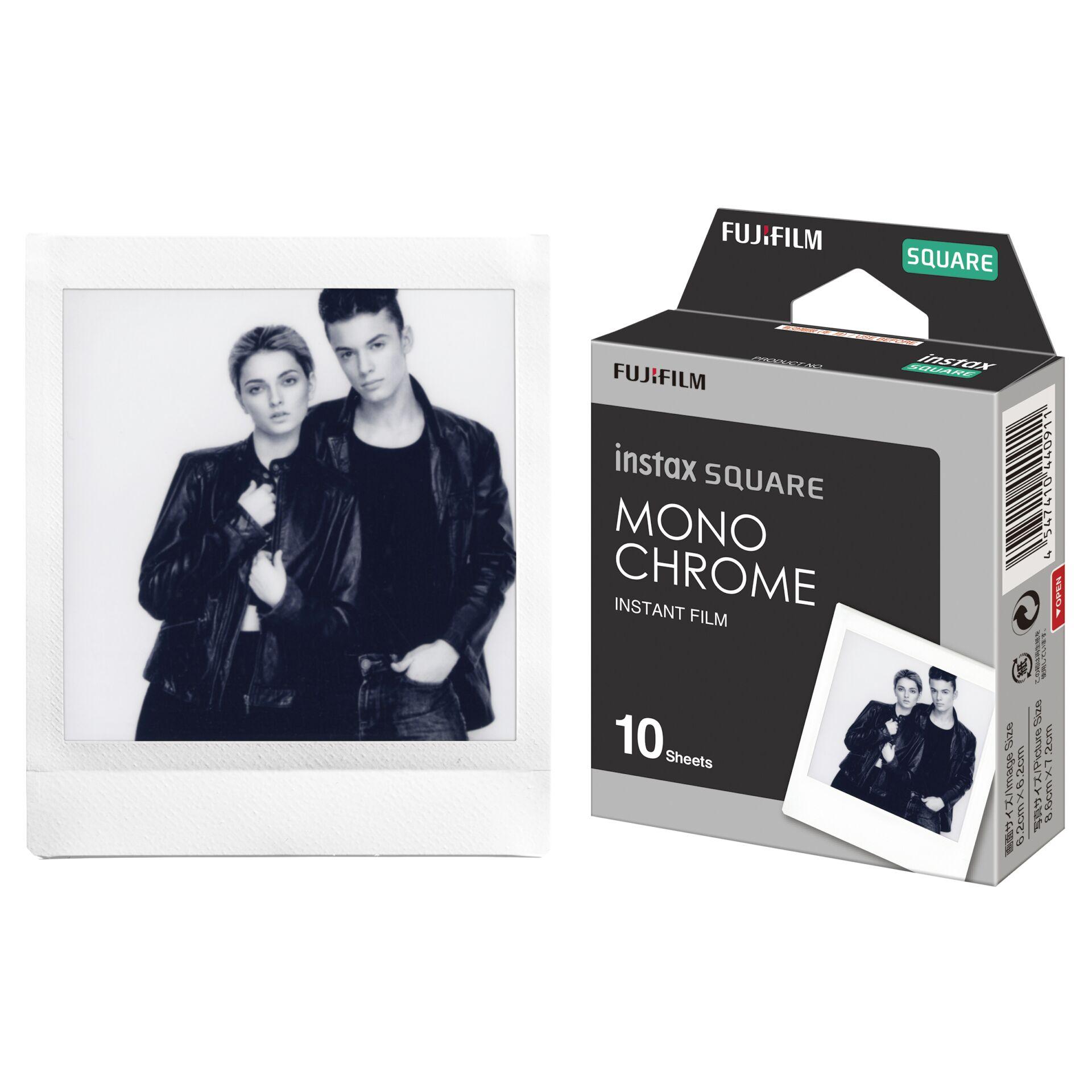 Fujifilm Instax Film Square monochrome