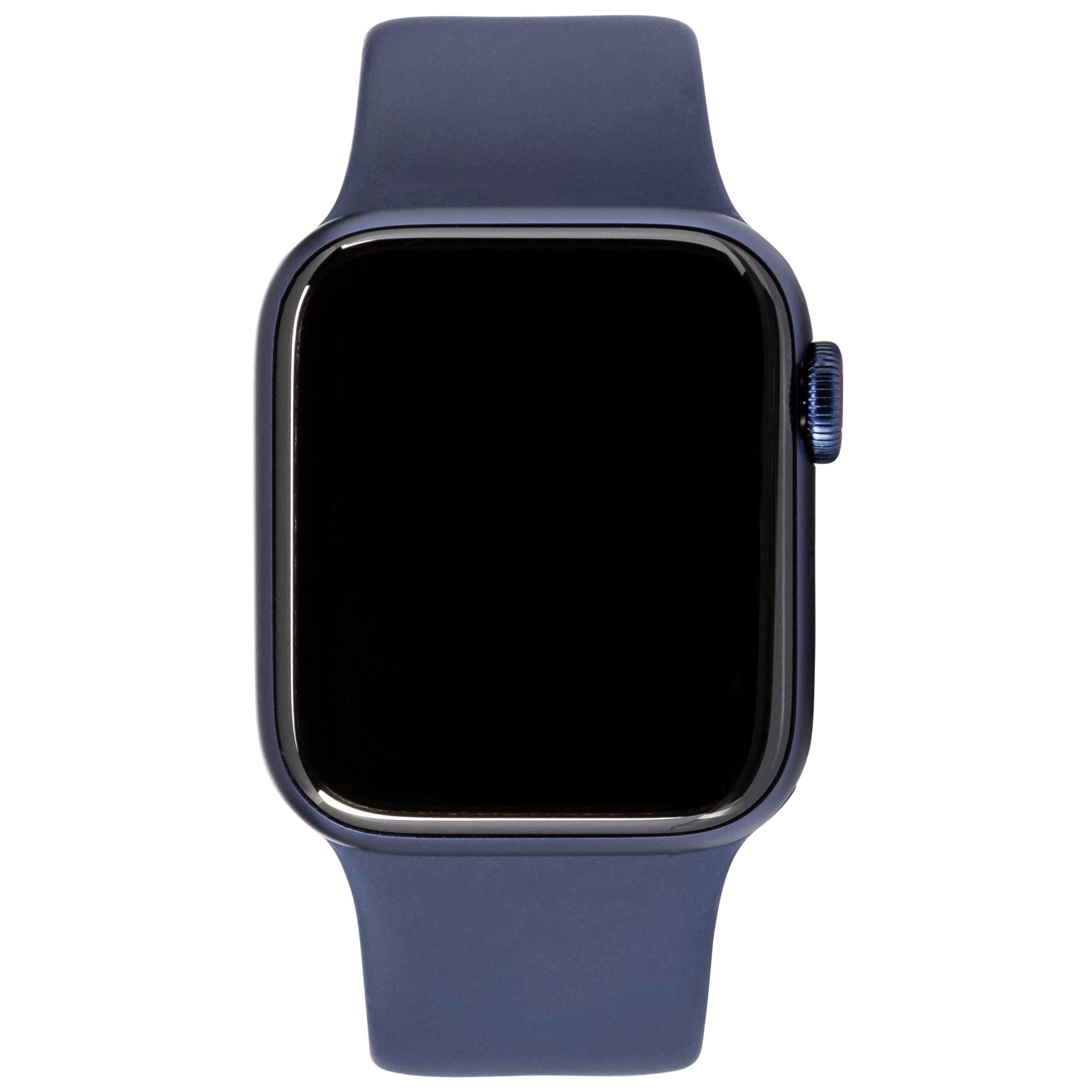 Apple Watch Series 6 GPS+ Cell 44mm Blue Alu Navy Sport Band