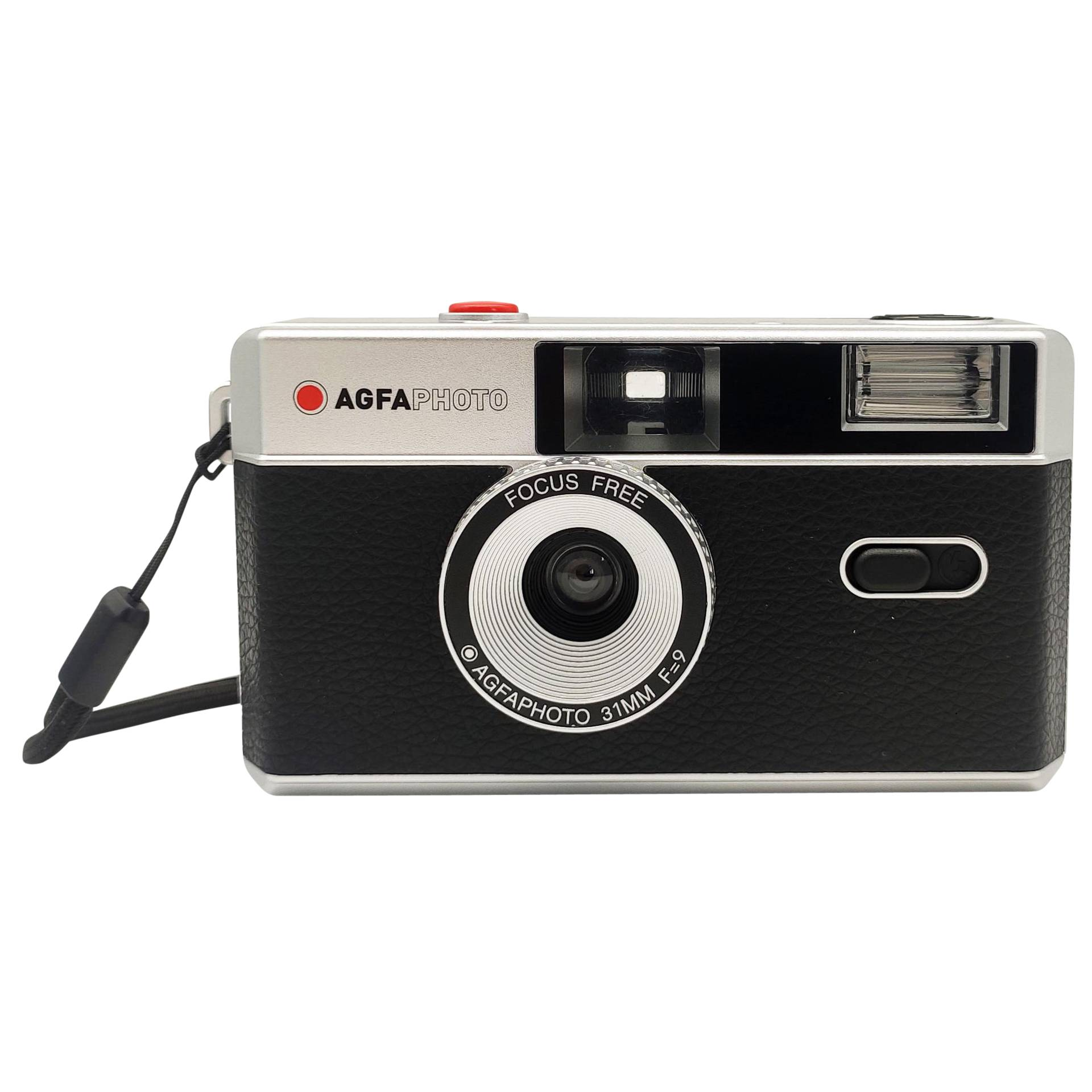 Agfaphoto Reusable Photo Camera 35mm Black