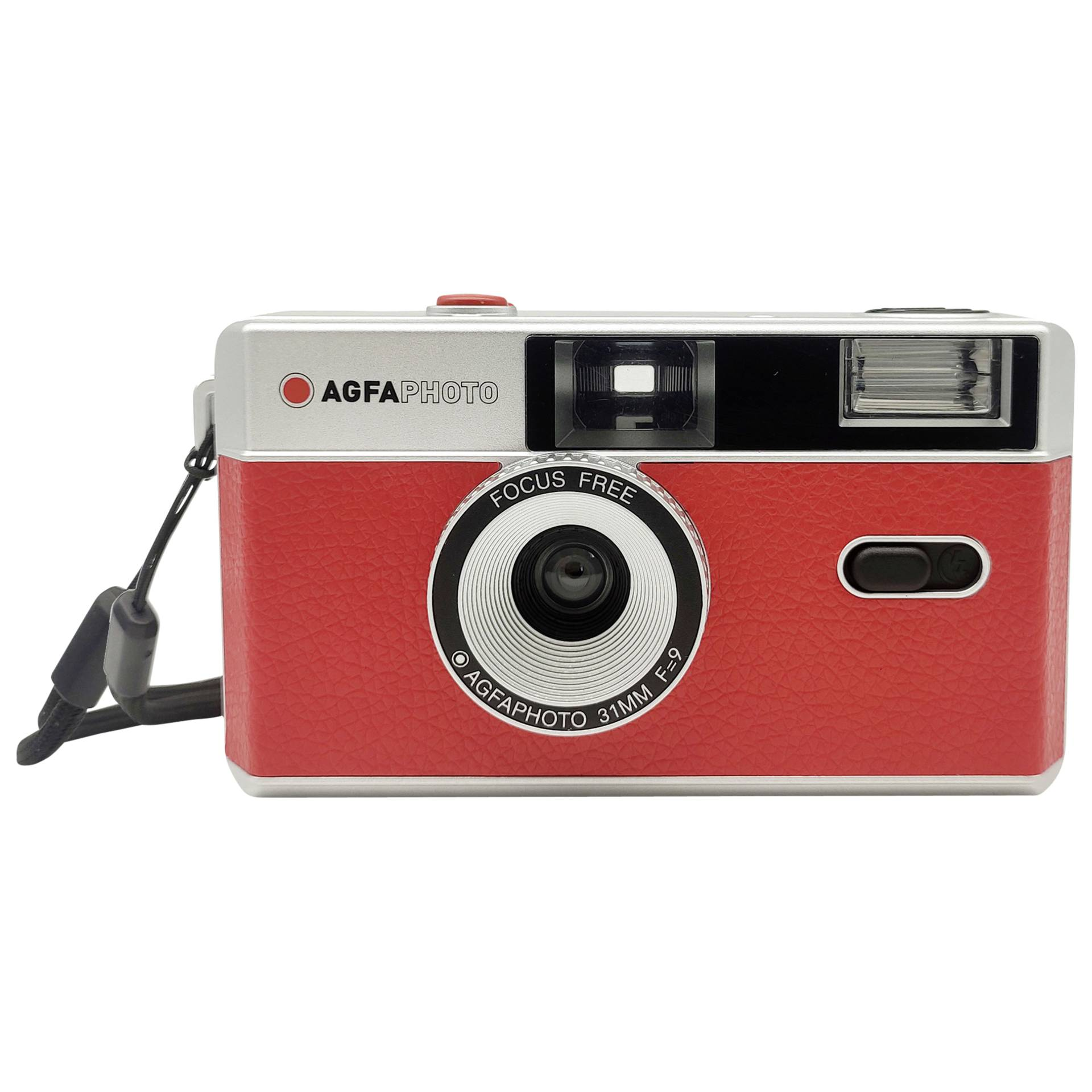 Agfaphoto Reusable Photo Camera 35mm Red