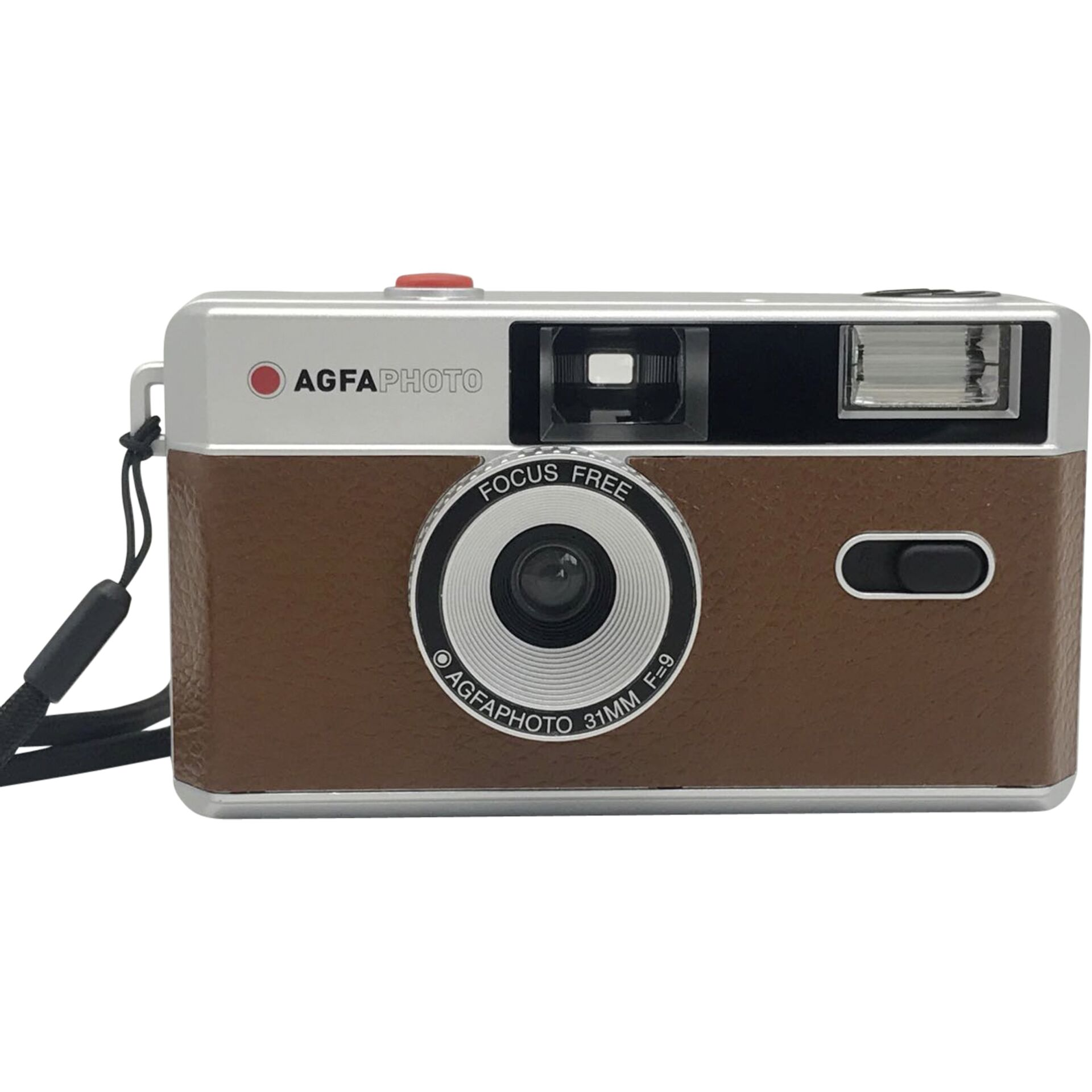 Agfaphoto Reusable Photo Camera 35mm Brown