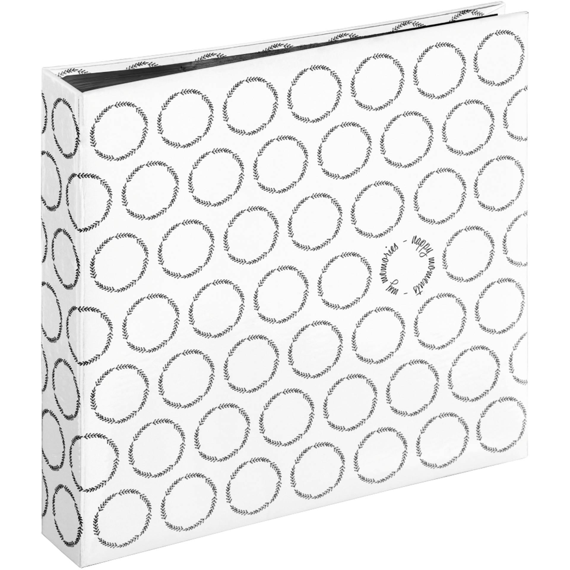 Hama Ivy Jumbo White 30x30 - 80 black pages