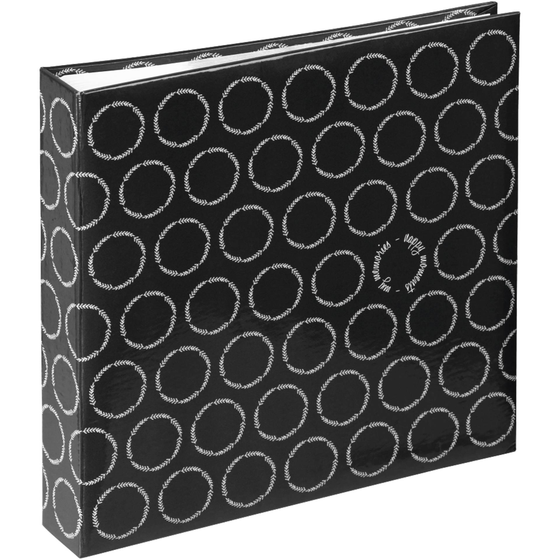 Hama Ivy Jumbo Black 30x30 - 80 white pages