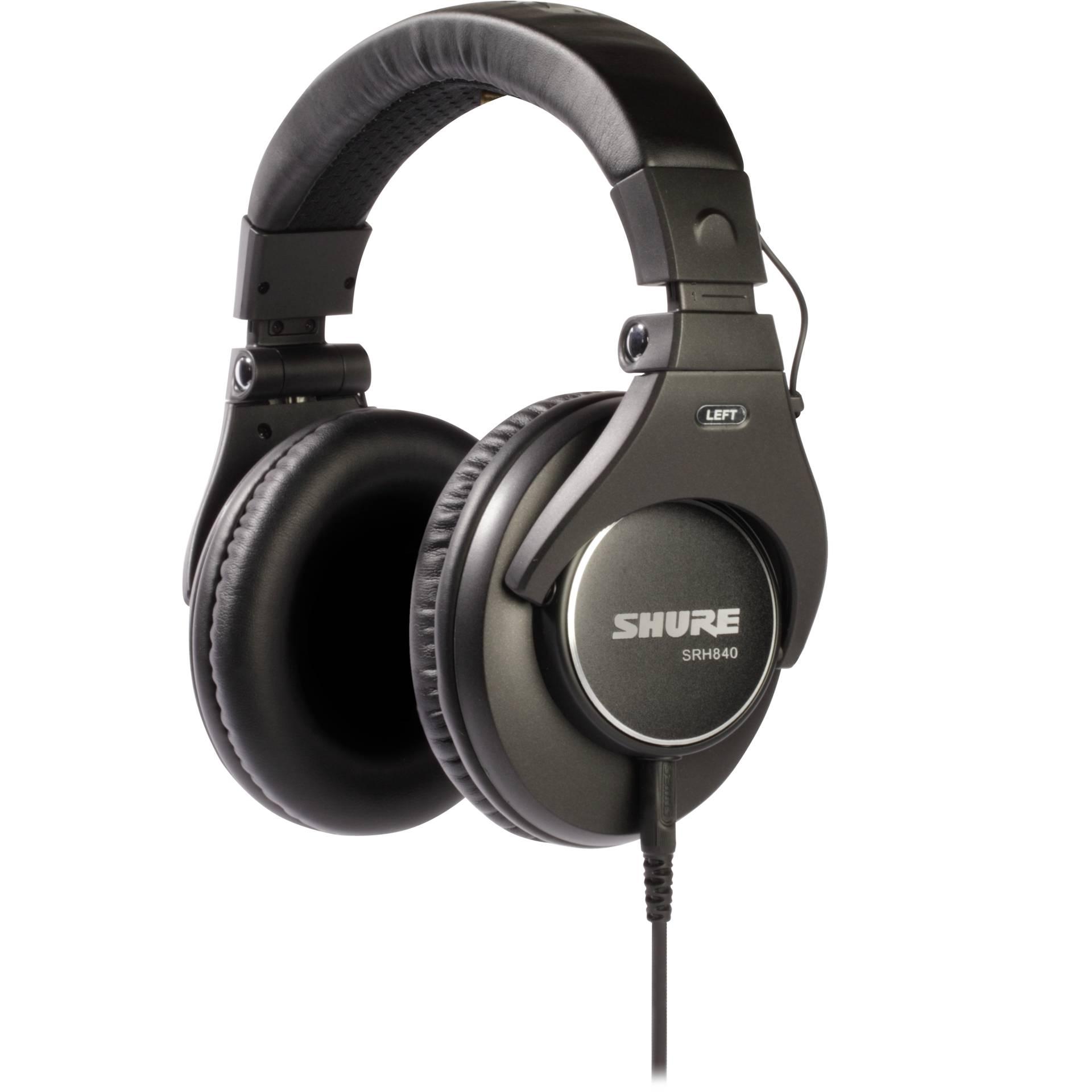 Shure SRH840-BK-EFS black