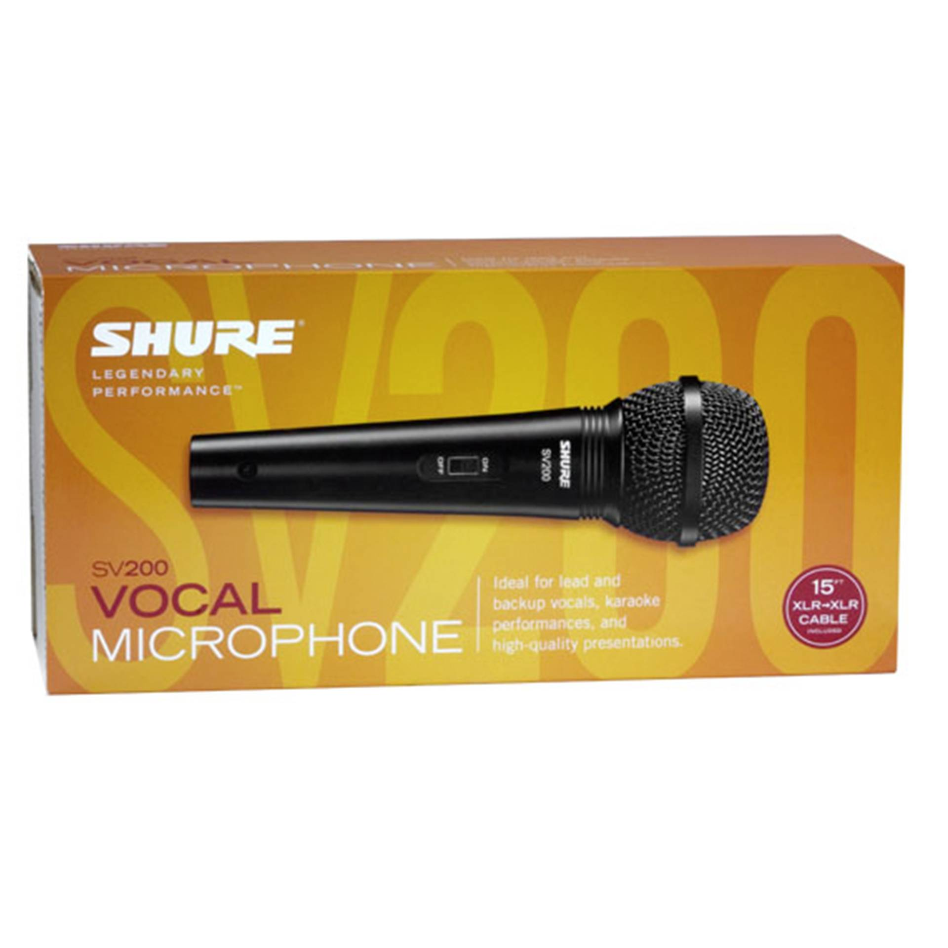 Shure SV200 microphone
