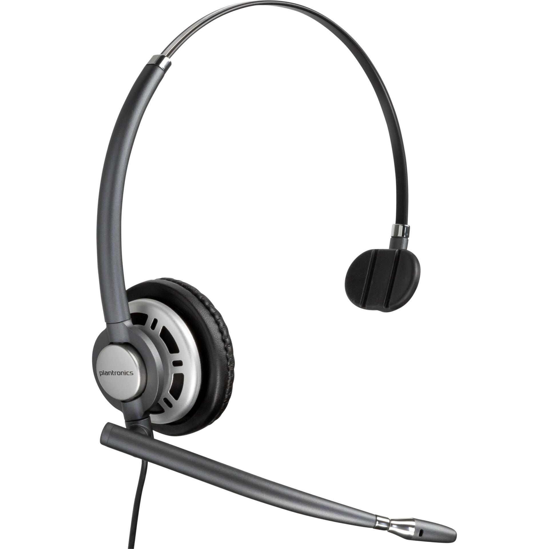 Plantronics EncorePro HW710 On-Ear Headset wired
