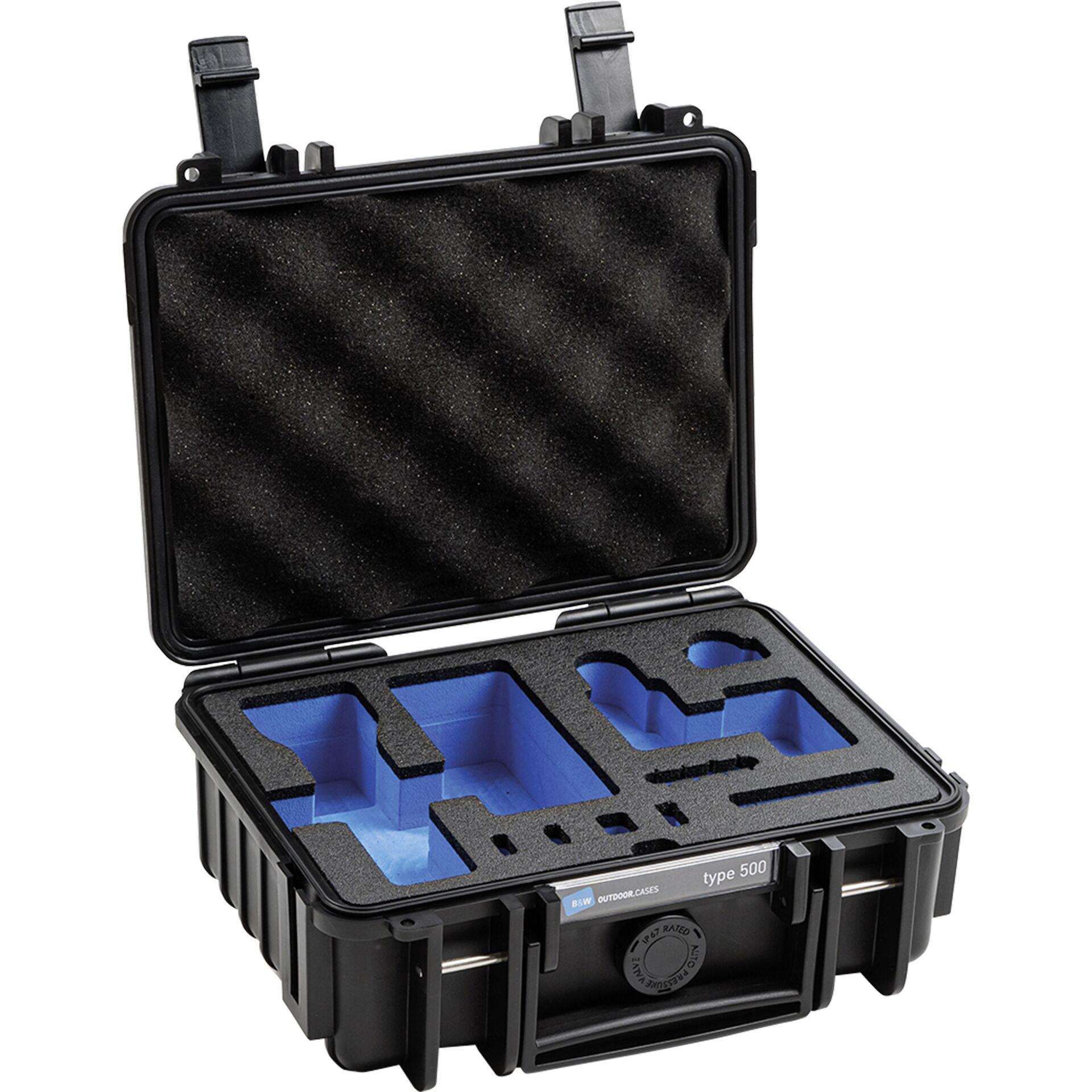 B&W Gimbal Case Type 500 B black for DJI Pocket 2