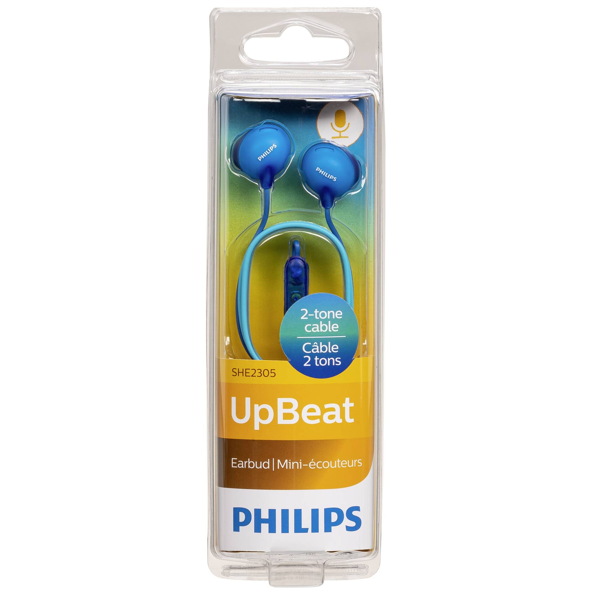 Philips SHE2305BL/00 blue