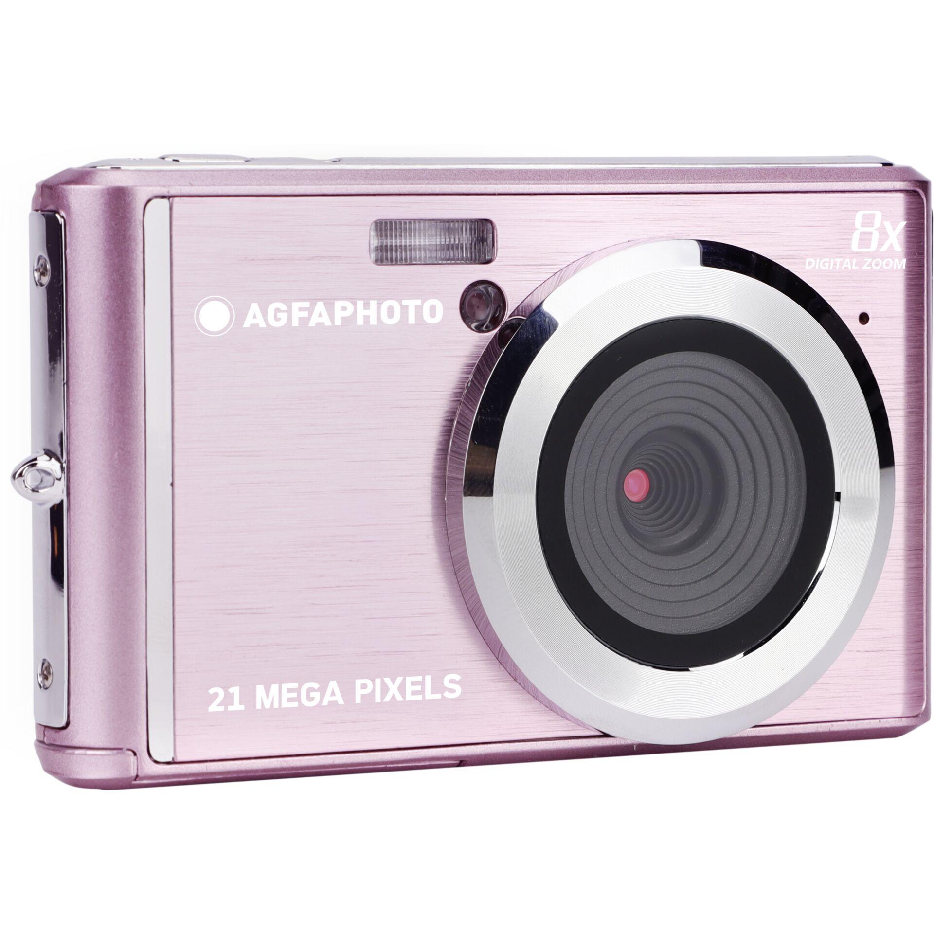 Agfa Compact Camera DC5200 pink