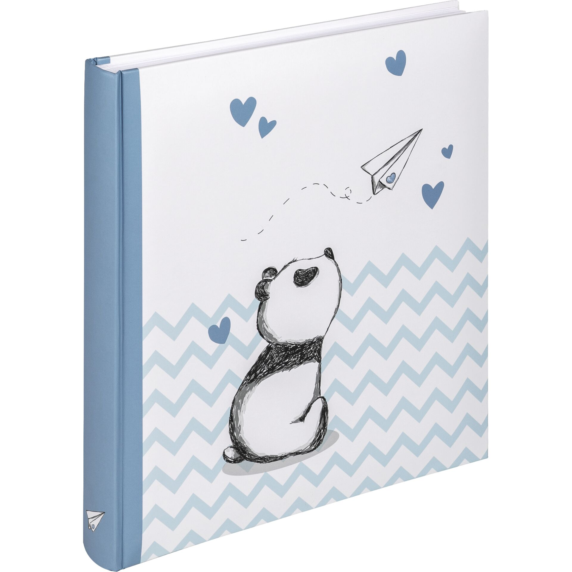 Walther Baby Little Panda Blue 28x30.5 - 50 white pages