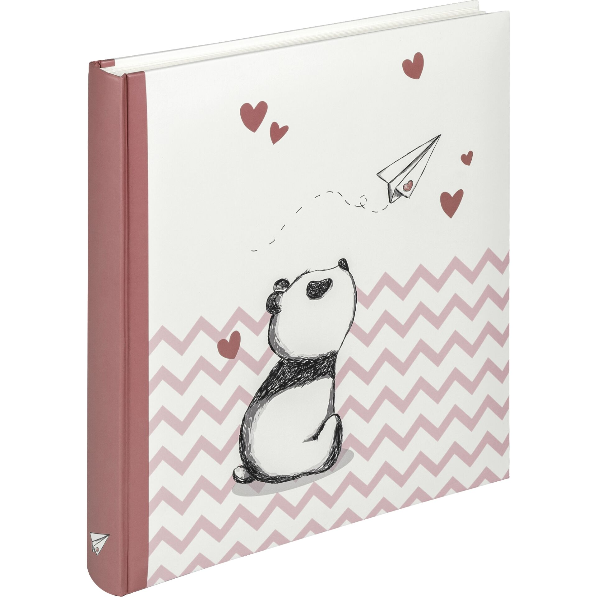 Walther Baby Little Panda Pink 28x30.5 - 50 white pages