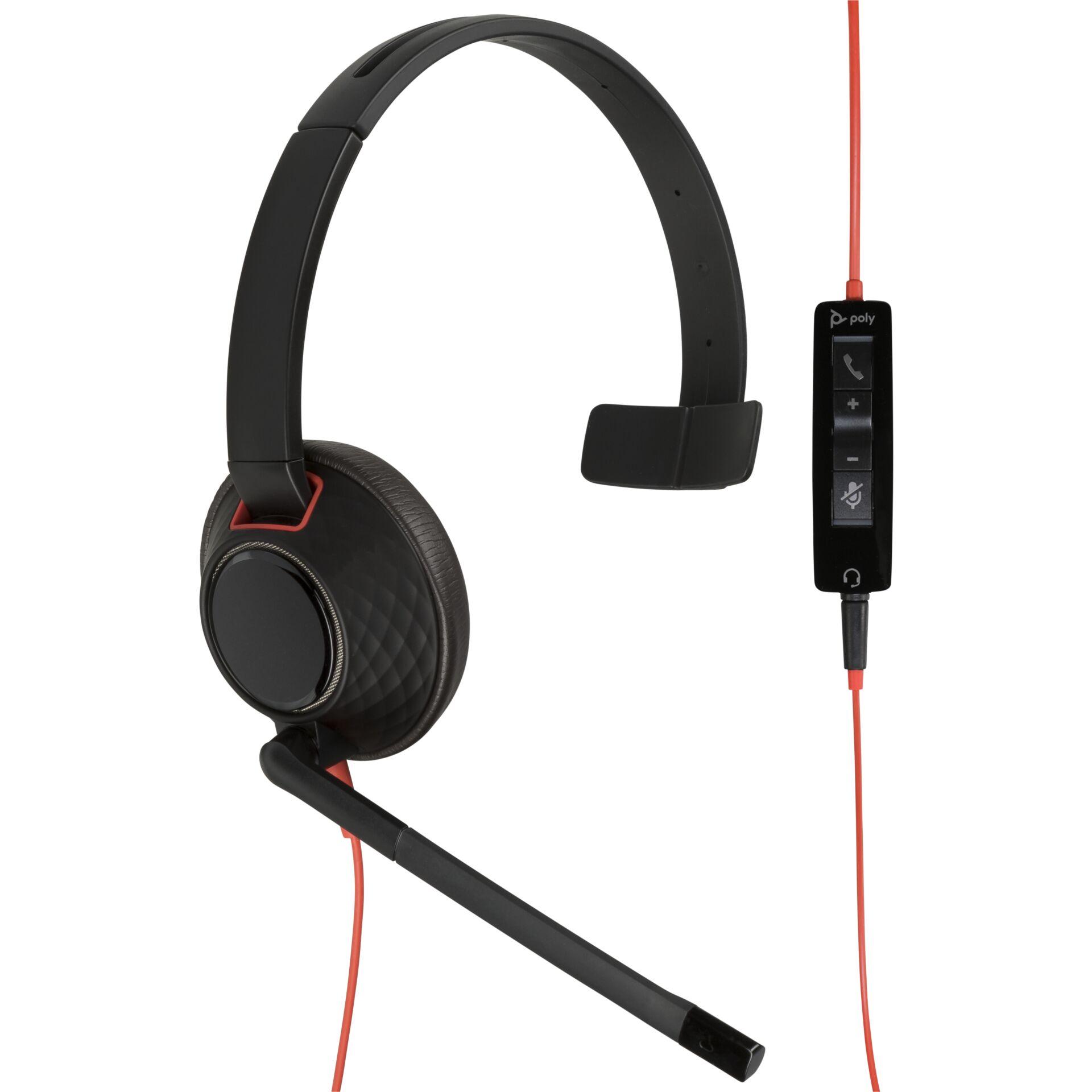 Plantronics Blackwire C5210 USB-A One-Ear