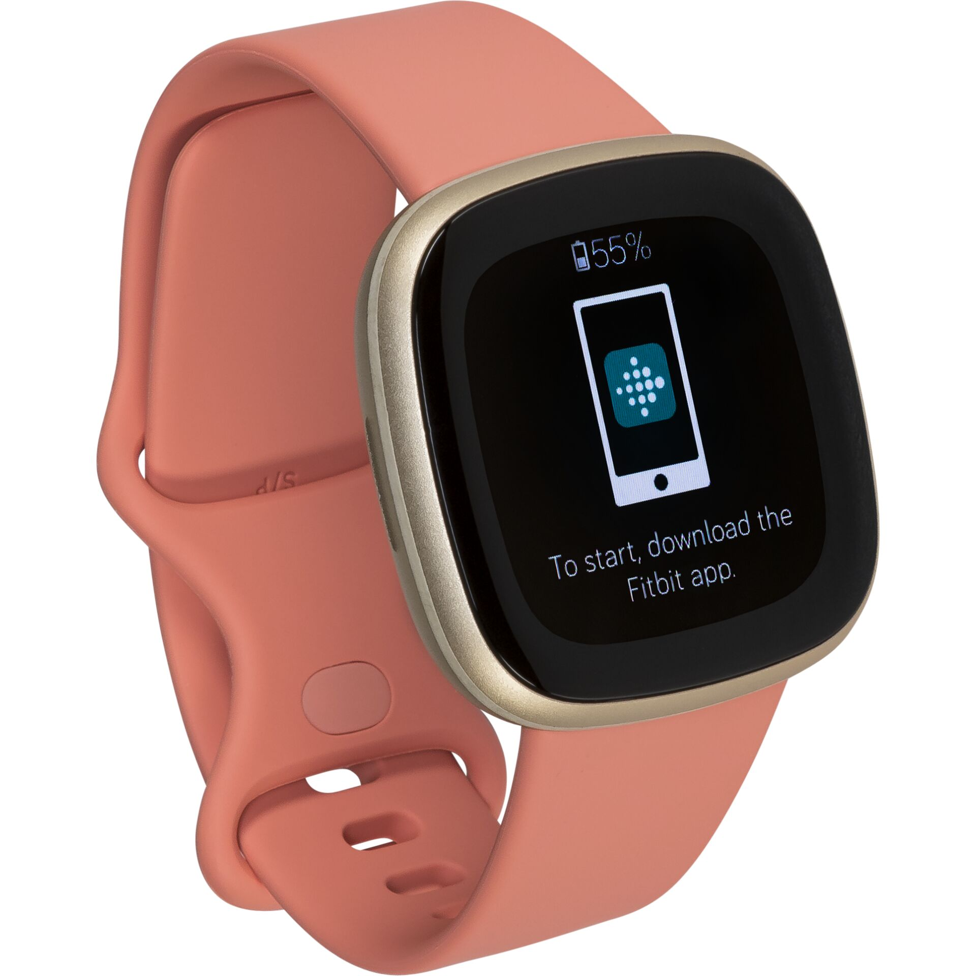 Fitbit Versa 3 rose/softgold