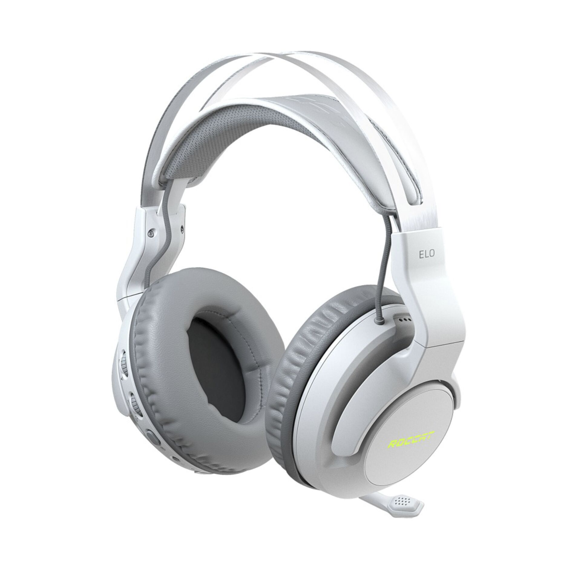 Roccat ELO 7.1 AIR Over-Ear Stereo Gaming Headset white