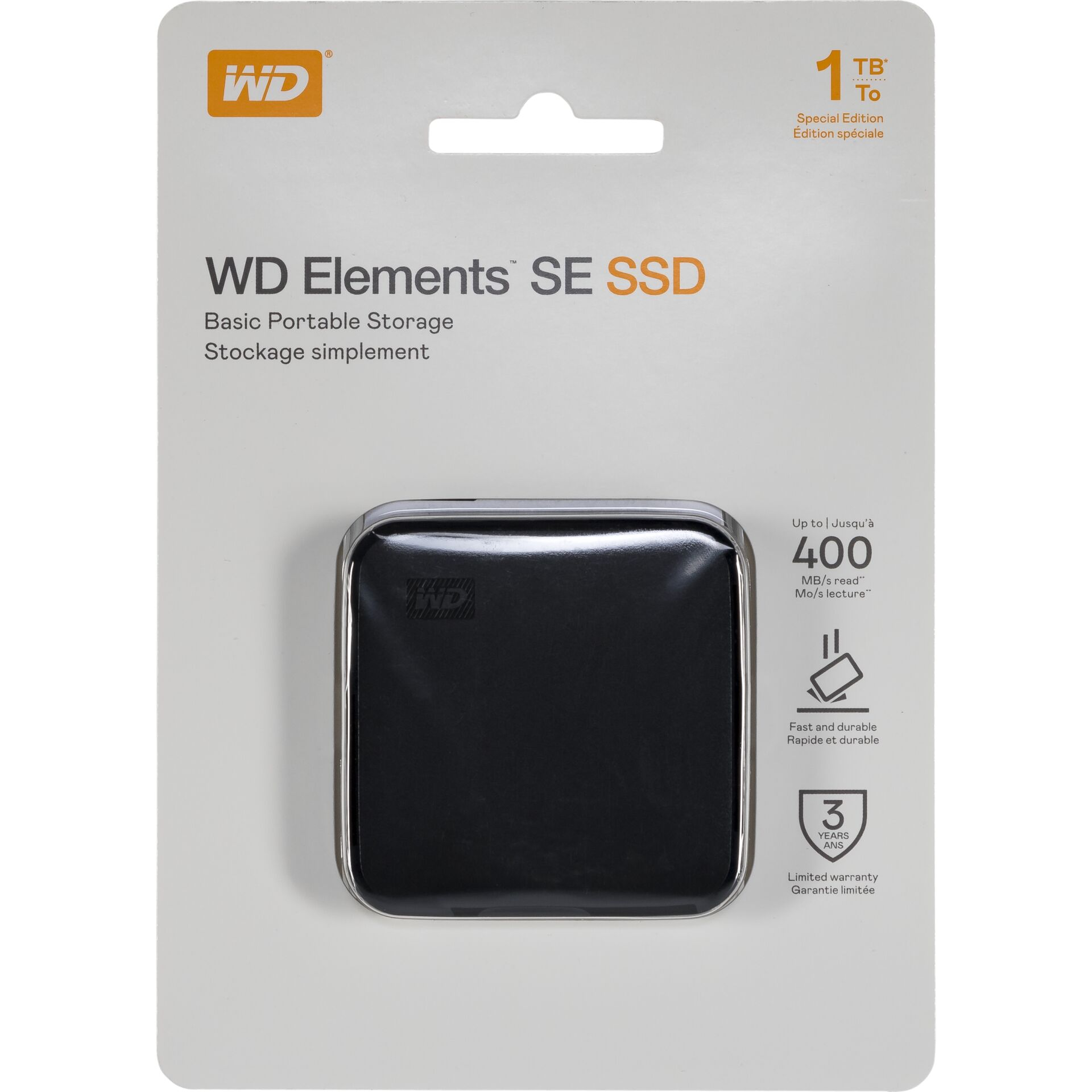 Western Digital Elements SE 1TB 400MS/s
