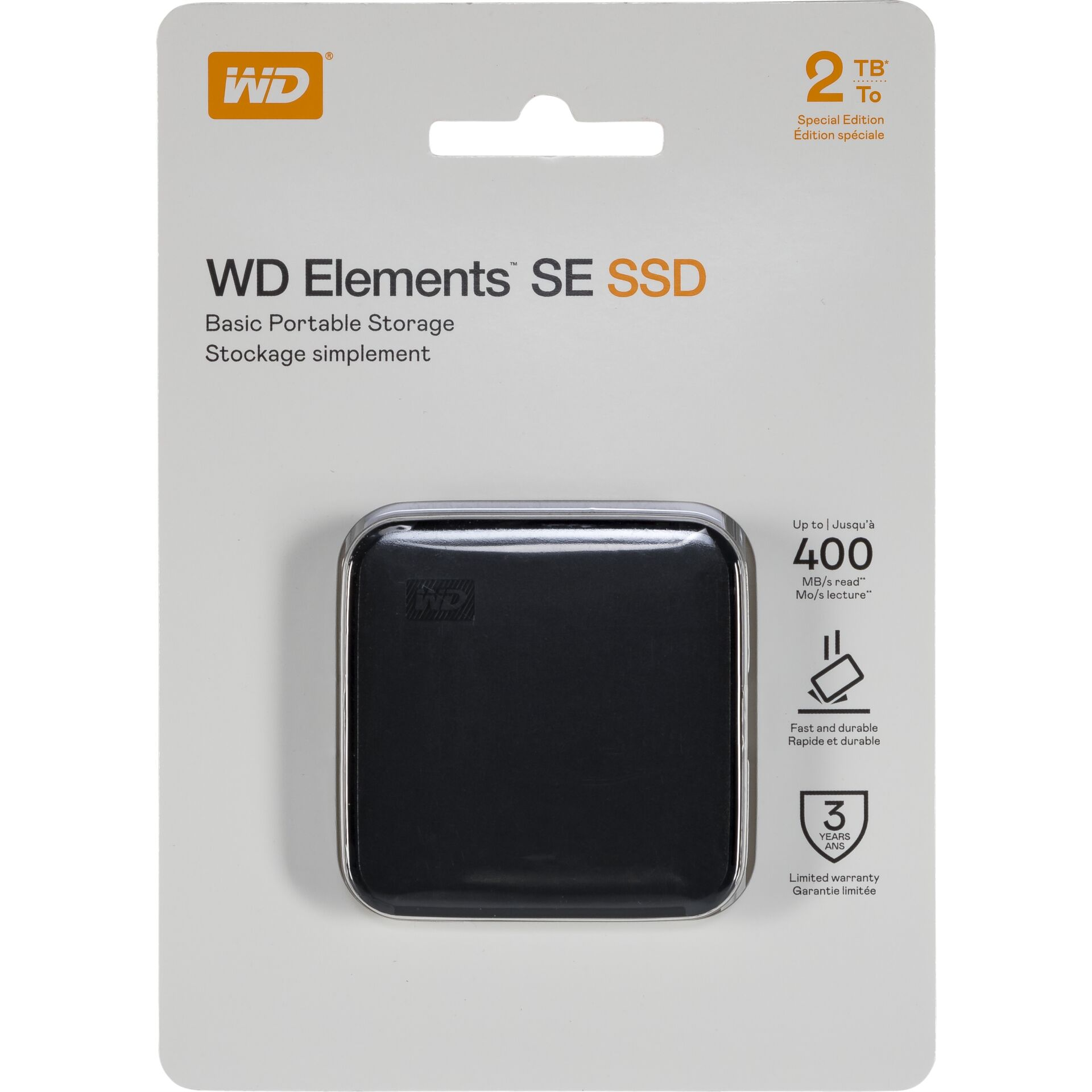 Western Digital Elements SE 2TB 400MS/s